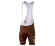 Odlo Men Tights short with suspenders AG2R replica brown